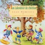 Couverture : Mon calendrier de chrétien